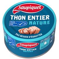 Saupiquet SAUPIQUET Thon entier nature MSC Bt93g