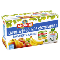 Andros ANDROS Pom/poi/fr/ba.S/S Gourde R.12x90g