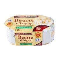 Isigny Sainte-Mère LES DELICES DE BELLE FRANCE Beurre Isigny Baratte 1/2sel Pl 250g