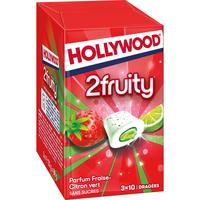 Hollywood HOLLYWOOD CHEWING GUM FRAISE/CITR. 3ETUI