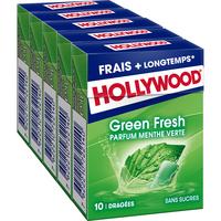 Hollywood HOLLYWOOD Dragées Green Fresh s/s 5x10D