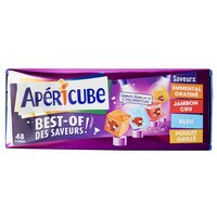 Apéricube APERICUBE Best of 48 cubes 250g