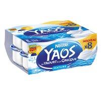 Yaos YAOS Yaourt Grecque Nature 8x125g
