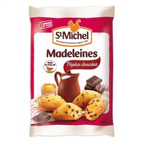 St Michel ST MICHEL Madeleine coq.pépite choc 400g
