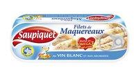 Saupiquet SAUPIQUET Maquereaux vin blanc 1/4 =176g