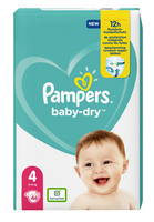 Pampers PAMPERS Baby Dry Geant T.4 x46