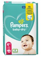 Pampers PAMPERS Baby Dry Langes Geant T.4+ x42