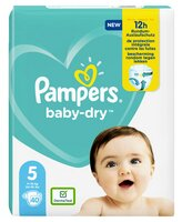 Pampers PAMPERS Baby Dry Langes Geant T.5 x40