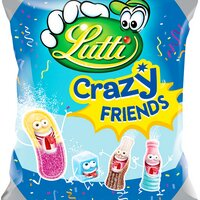 Lutti LUTTI Crazy friends St500g