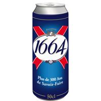 1664 1664 Bière 5,5° Boite 50cl