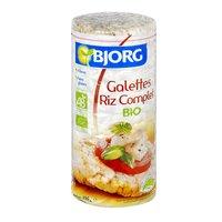 Bjorg BJORG Galettes riz complet BIO Pt 130g