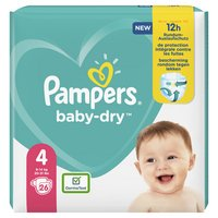 Pampers PAMPERS Baby Dry langes T.4 x26