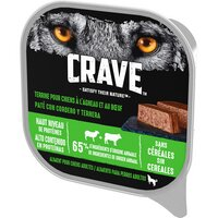 Crave CRAVE Terrine chien agneau/boeuf Bq300g