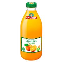 Andros ANDROS Jus d'oranges pressées Pet 1L