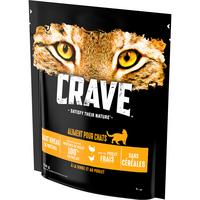 Crave CRAVE Chat dinde/poulet St750g