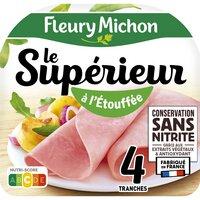 Fleury Michon F MICHON Jambon Sup étouffé CSN 4tr 140g