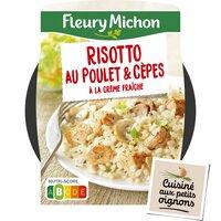 Fleury Michon F MICHON Poulet risotto cèpes bq 280g