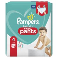 Pampers PAMPERS Baby Dry Pants T.4 x24